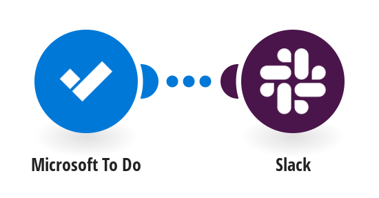 Send a Slack message when a Microsoft To Do task due date is added