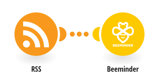 Create a Beeminder datapoint for new RSS feed item