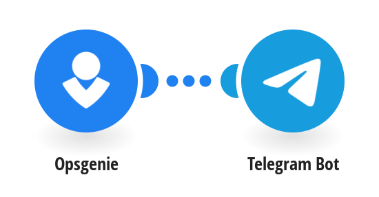 Creates an Alert in Opsgenie and sends a notification to Telegram Bot