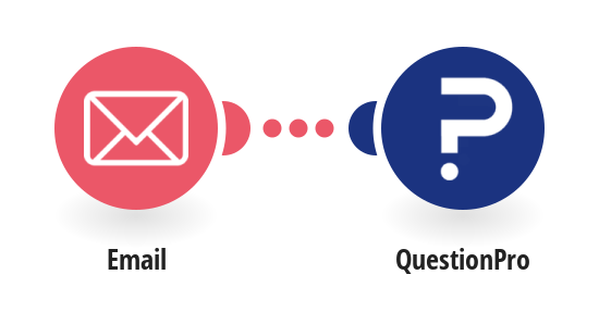 Send a QuestionPro survey for a new email