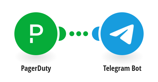 Send messages to Telegram Bot about new incidents in PagerDuty