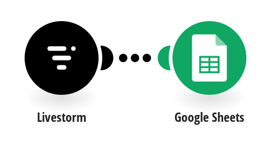 Save new Livestorm registrants to rows in Google Sheets spreadsheets