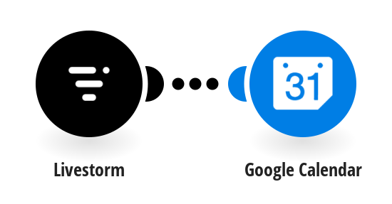 Create Google Calendar events from new published events on Livestorm