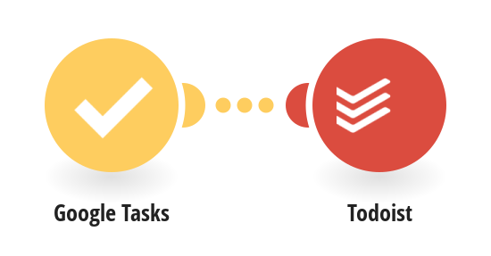 Add new Google Tasks to Todoist as tasks