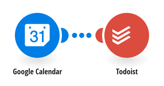 Add new Google calendar events to Todoist as tasks