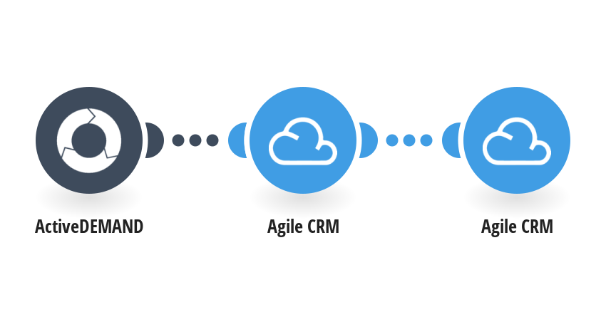 Create an Agile CRM contact when a new ActiveDEMAND contact is created
