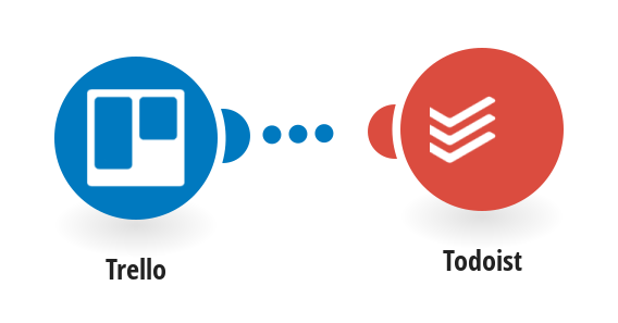 todoist project templates - todoist trello integrations integromat