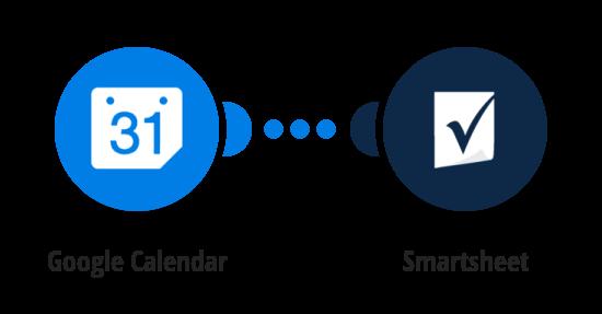 Add Google Calendar events to Smartsheet as new rows