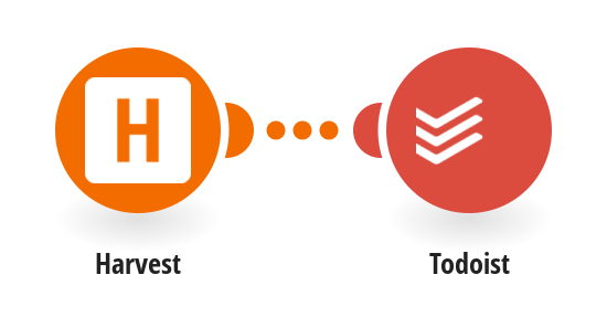 Create Todoist projects from new Harvest projects