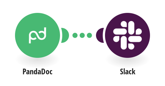 Get a Slack notification on a completed PandaDoc document