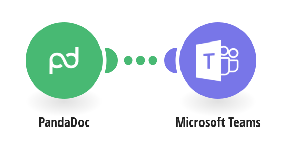 Get a Microsoft Teams notification on a completed PandaDoc document