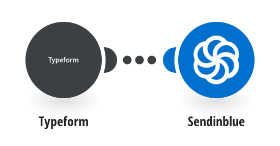 Send a Sendinblue email when a new Typeform form is submitted