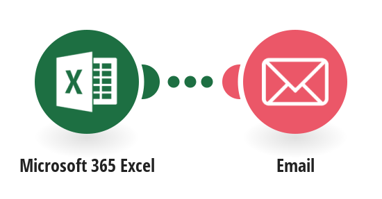 Send an Email message from a new row in a Microsoft 365 Excel worksheet
