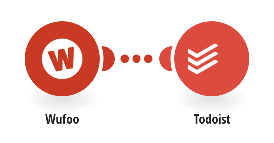 Update a Todoist project whenever a new form is created in Wufoo