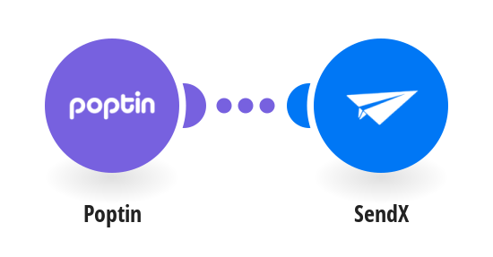 Create a SendX contact from a new Poptin lead