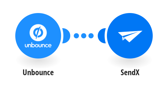 Create a SendX contact from a new Unbounce form submission