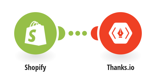 Add a recipient to a Thanks.io mailing list from a new paid Shopify order