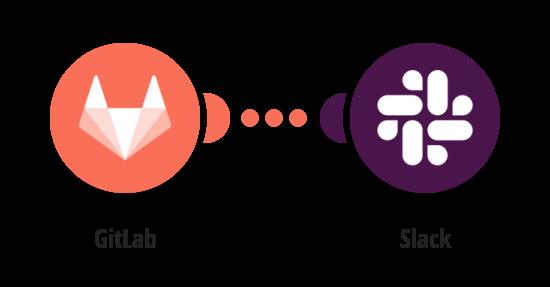 Send a Slack message on a new GitLab merge request