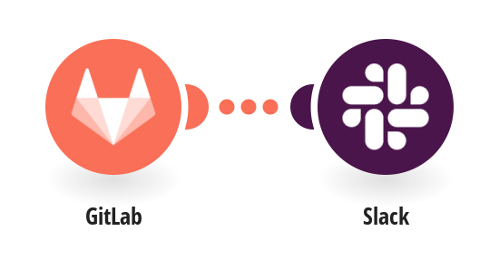 Send a Slack message on a new GitLab push event