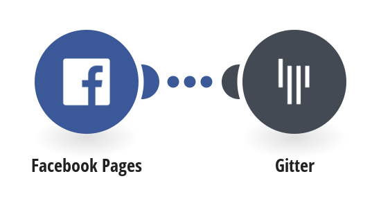 Send Gitter messages for new Facebook Page posts