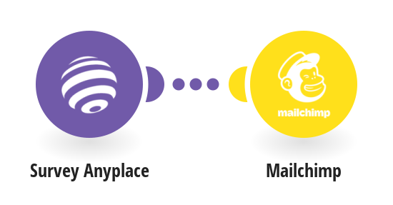 Add Mailchimp subscribers from new Survey Anyplace responses
