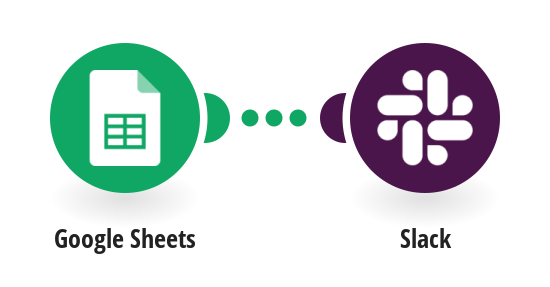 Share data added to a Google Sheet as Slack messages