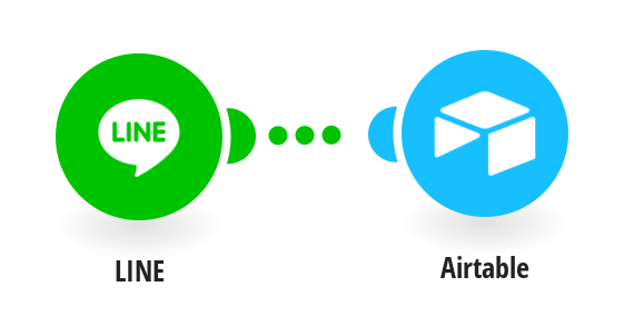 Create an Airtable record from a LINE message