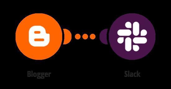Send Slack messages for new Blogger posts