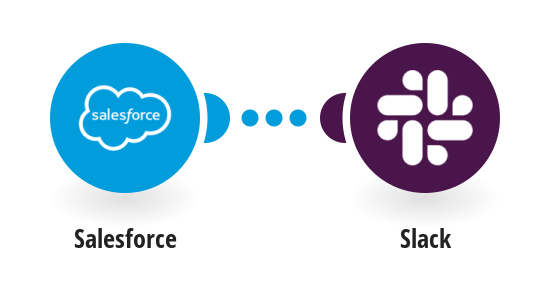 Send a Slack message from a new Salesforce lead