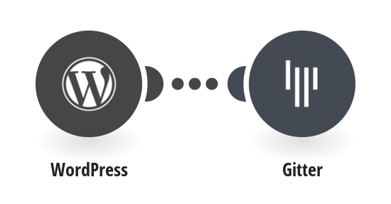 Send Gitter messages for new WordPress posts