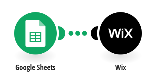Create a Wix product from a new Google Sheets row