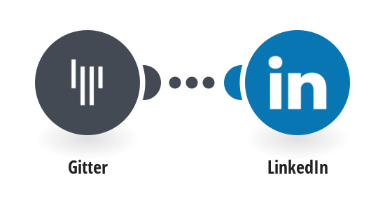 Post new Gitter messages to LinkedIn