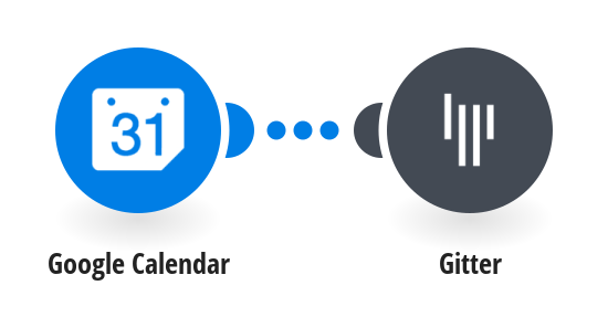 Send Gitter messages for new Google Calendar events