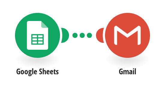 Send a Gmail email from a new Google Sheets row