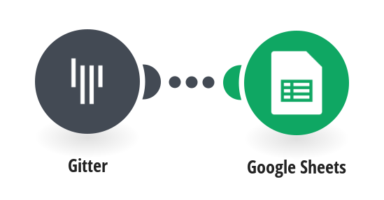 Add new users from a selected Gitter room to a new row in your Google Sheets spreadsheet