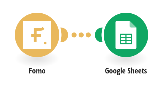 Add Fomo events fields to a Google Spreadsheets