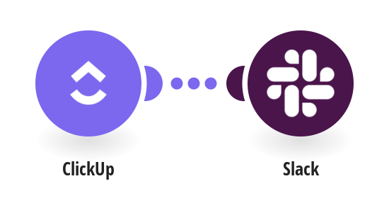 Send Slack messages when tasks are created or updated in ClickUp