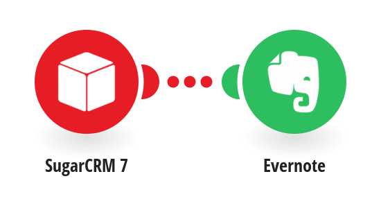Create Evernote notes from new SugarCRM 7 campaigns