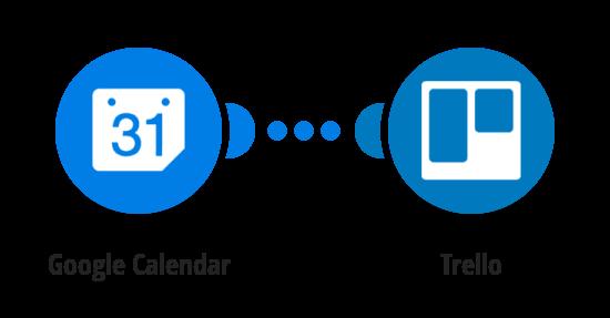 Create Trello cards from Google Calendar events