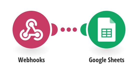 Add data to a Google Sheet received from a Webhook