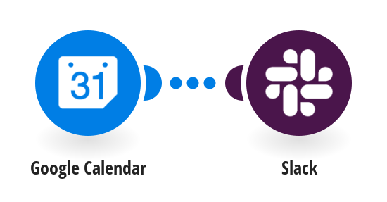 Update Slack status during new Google Calendar events