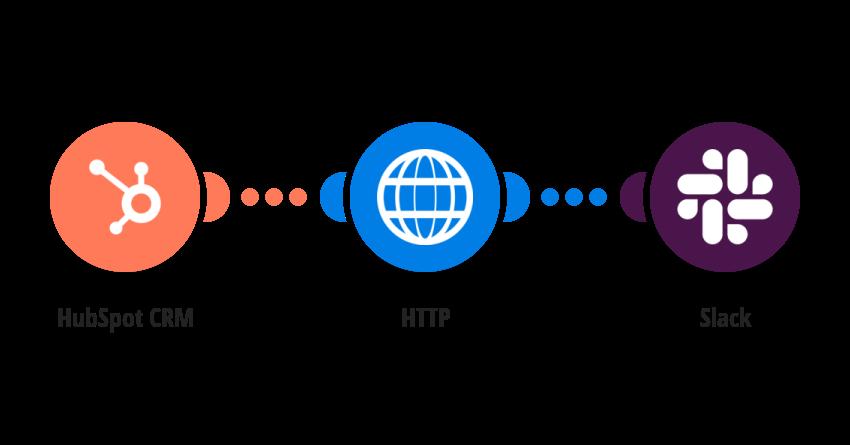 Upload a new HubSpot CRM file to Slack