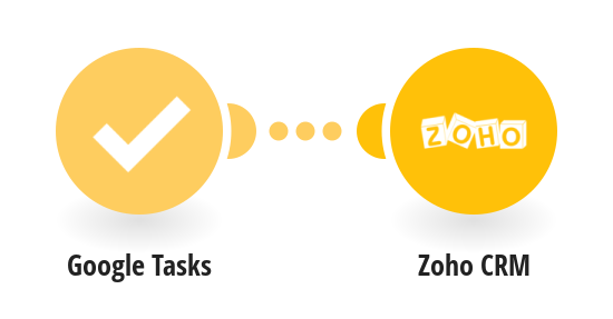 Create Zoho CRM task from new Google Tasks