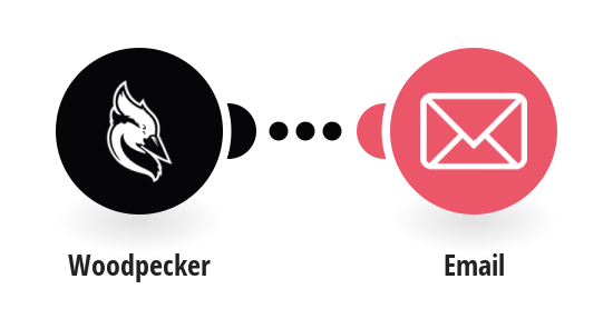 Send an Email message for an interested Woodpecker prospect