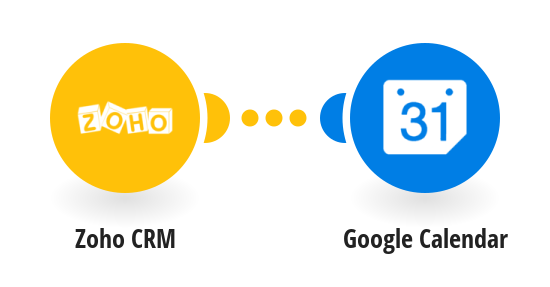 Create Google Calendar events from new Zoho CRM events