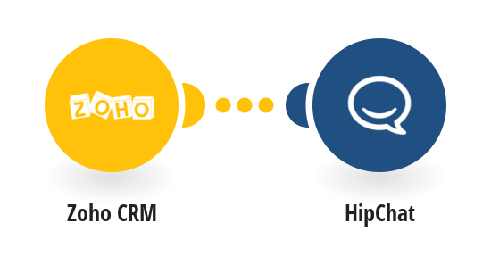 Post HipChat messages for new Zoho CRM deals