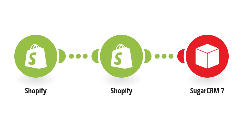 Add new Shopify customers to SugarCRM 7 as contacts