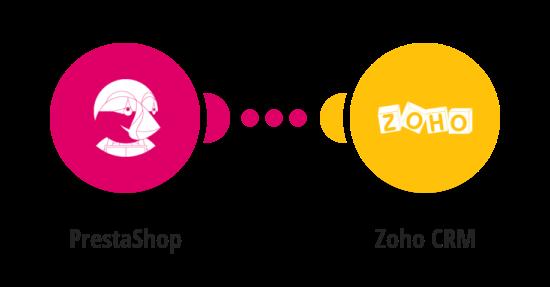 Vytvoření dealu v Zoho CRM z nové objednávky v PrestaShopu