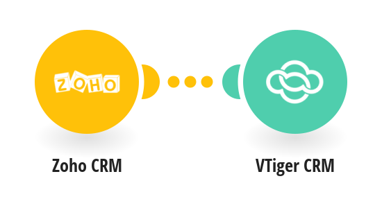 Create VTiger CRM contacts from new Zoho CRM contacts