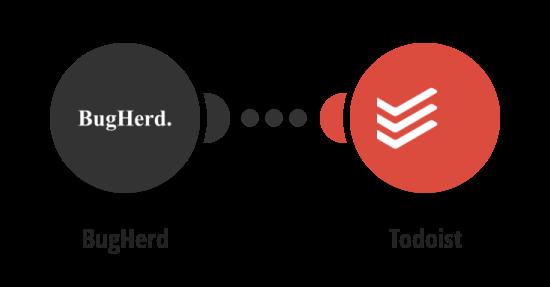 Add new BugHerd tasksto Todoist as tasks
